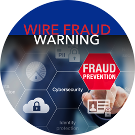 link to wire fraud warning page with video